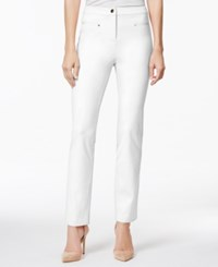 Charter Club Ankle Pants Only At Macy's Bright White