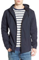 Men's Threads For Thought 'Safari' Water Repellent Hooded Rain Jacket Navy