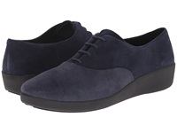 Fitflop F Pop Oxford Opul Supernavy Women's Lace Up Casual Shoes