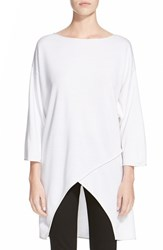 Women's St. John Collection Milano Knit High Low Tunic