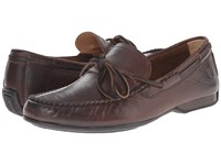 Frye Lewis Tie Dark Brown Oiled Vintage Men's Lace Up Casual Shoes