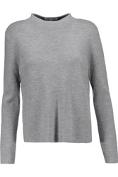 Milly Wool Sweater Gray