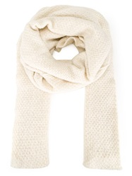Thamanyah Oversize Scarf Nude And Neutrals