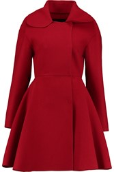 Giambattista Valli Flared Wool Felt Coat
