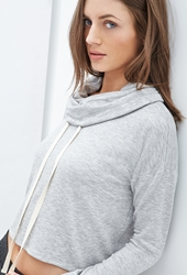 Forever 21 Cowl Neck Hoodie