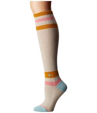 Stance So Classic Cream Women's Crew Cut Socks Shoes Beige