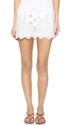 Paige Paxton Shorts White