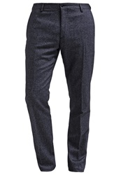 Tommy Hilfiger Tailored Will Trousers Blue Dark Blue