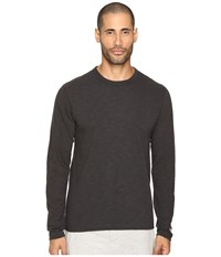 Todd Snyder Champion Long Sleeve Crew Faded Black Men's Long Sleeve Pullover Gray