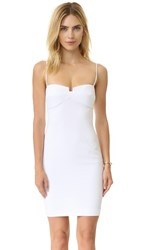 Kendall Kylie Bustier Body Con Dress White