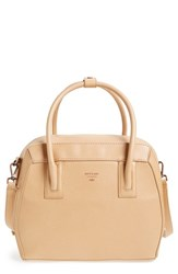 Matt And Nat 'Tardy' Faux Leather Satchel Beige Nature