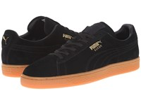 Puma The Suede Winter Gum Black Team Gold Men's Shoes