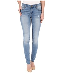 Kut From The Kloth Mia Toothpick Five Pocket Skinny Jeans In Valuable W Medium Base Wash Valuable Medium Base Wash Women's Jeans Blue