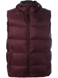 Michael Kors Padded Gilet Pink And Purple