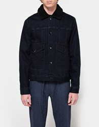 Native Youth Grain Jacket Indigo