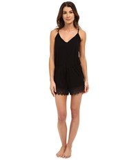 Cosabella Edith Romper Black Women's Jumpsuit And Rompers One Piece