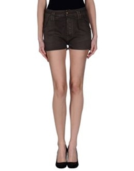 Cycle Denim Shorts Cocoa