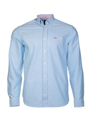 Raging Bull L S Signature Oxford Shirt Sky Blue