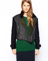 Wood Wood Canal Biker Jacket Mixcolour