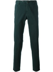 Pt01 Slim Fit Chinos Green