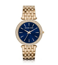 Michael Kors Darci Pave Gold Tone Watch