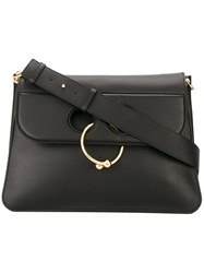 J.W.Anderson Ring Shoulder Bag Black
