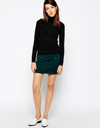 Esprit Check Mini Skirt Green