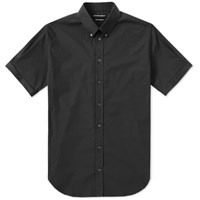 Alexander Mcqueen Short Sleeve Spike Shirt Black