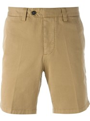 Ami Alexandre Mattiussi Chino Shorts Brown