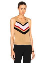 Giambattista Valli Embroidered Sweater In Neutrals Geometric Print Neutrals Geometric Print