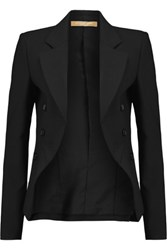 Michael Kors Collection Wool Blend Blazer Black