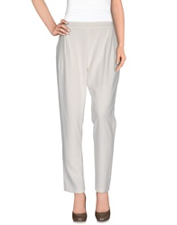 10 Crosby Derek Lam Casual Pants Ivory