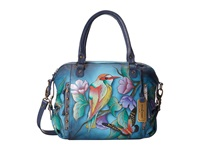 Anuschka 526 Hawaiian Twilight Tote Handbags Blue