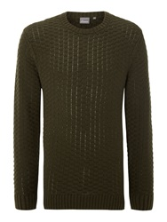 Linea Todd Crew Neck Knitwear Forest