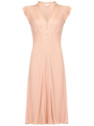 Ghost Ines Dress Pink Sand