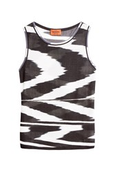 Missoni Monochrome Tank Top