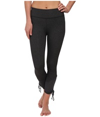 Beyond Yoga Shirred Ankle Tie Leggings Heather Gray Women's Casual Pants