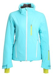 Spyder Fraction Ski Jacket Blue Light Blue