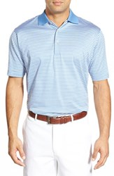 Men's Peter Millar 'Classic Stripe' Short Sleeve Polo