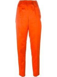 Emilio Pucci Vintage High Waisted Trousers Red