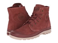 Palladium Pampa Hi Suede Ul Madder Brown Stucco Men's Lace Up Boots