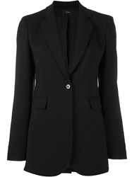 Joseph One Button Blazer Black