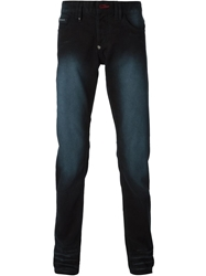 Philipp Plein 'The Flash' Slim Fit Jeans Black