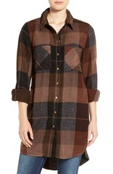 Dex Women's Plaid Flannel Tunic