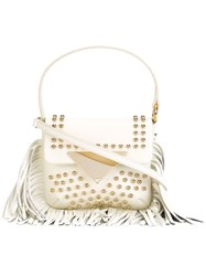 Sara Battaglia 'Cutie Penny' Crossbody Bag White