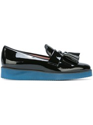 Pretty Ballerinas Tassel Loafers Black
