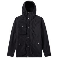 Battenwear Travel Shell Parka Black