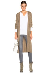 Atm Anthony Thomas Melillo Felted Double Breasted Coat In Brown
