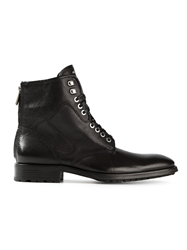 Paul And Joe Lace Up Boots Black