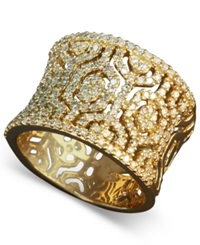 Effy Collection D'oro By Effy Diamond Hexagon Ring 3 4 Ct. T.W. In 14K Gold